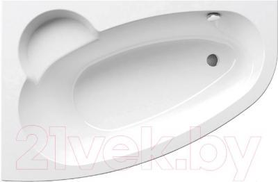 Ванна акриловая Ravak Asymmetric 170x110 L (C481000000) - в интерьере
