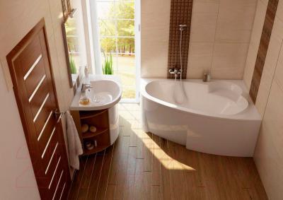 Экран для ванны Ravak Asymmetric 170 R (CZ49100000) - вместе с ванной