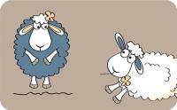 Коврик для ванной Tatkraft Funny Sheep 14947 -