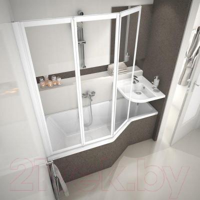 Ванна акриловая Ravak Be Happy 150x75 L (C121000000) - в интерьере