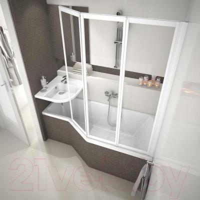 Ванна акриловая Ravak Be Happy 150x75 R (C151000000) - в интерьере