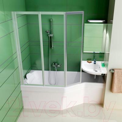 Экран для ванны Ravak Be Happy 150 L (CZ12100A00) - вместе с ванной