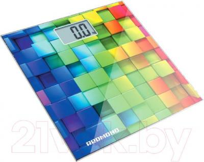 Напольные весы электронные Redmond RS-708 (кубики)