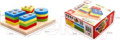 Развивающая игрушка Yunhe Muwanzi Сортер MWZ-6009