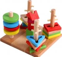 Развивающая игрушка Yunhe Muwanzi Сортер YX529 -