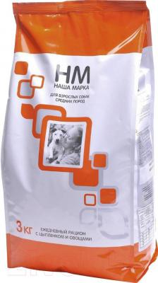 Корм для собак Наша Марка Для средних пород НМ038 (15 кг) - общий вид