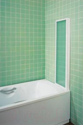 Пластиковая шторка для ванны Ravak VS3 115 (795S010041) - в сложенном виде