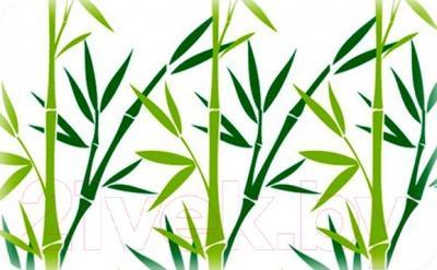 Коврик для ванной Tatkraft Bamboo Green 14954