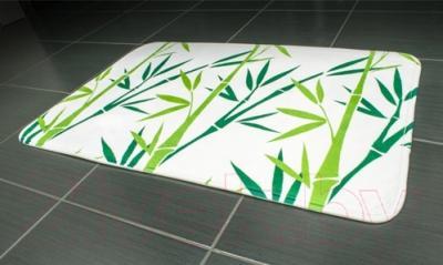 Коврик для ванной Tatkraft Bamboo Green 14954 - в интерьере