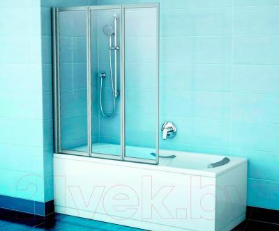 Стеклянная шторка для ванны Ravak VS3 115 (795S0U00Z1)