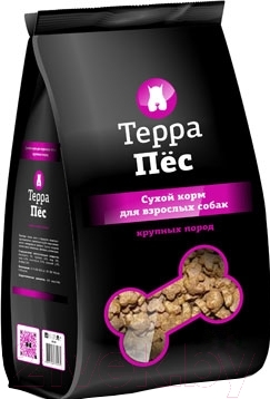 Корм для собак ТерраПес Для крупных пород TRK017 (12 кг)