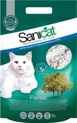 Наполнитель для туалета Sanicat Forest SCG006 (5л)