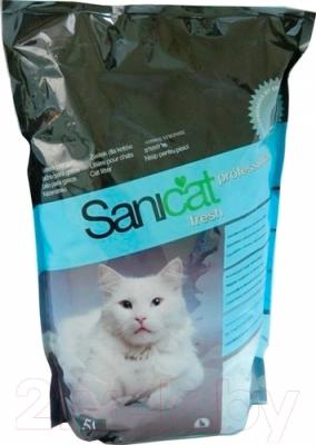 Наполнитель для туалета Sanicat Fresh Professional SCG042 (5л)