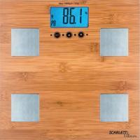 Напольные весы электронные Scarlett SC-BS33ED79 (бамбук) -