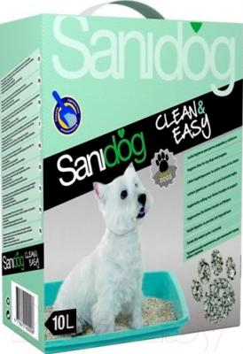 Наполнитель для туалета Sanidog Vanilla SCG018 (10л)