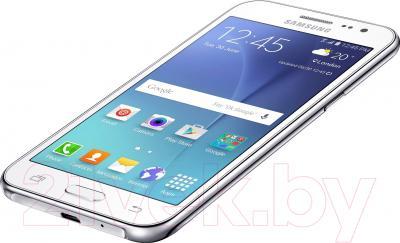 Смартфон Samsung Galaxy J2 / J200H/DS (белый)