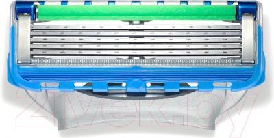 Подарочный набор Gillette Fusion ProGlide Power  (4 кассеты + гель для бритья) - кассеты в комплекте (4 шт.)