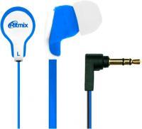Наушники Ritmix RH-183 (бело-синий) -