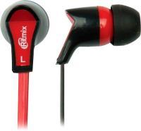 Наушники Ritmix RH-013 (черно-красный) -
