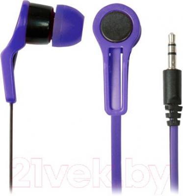Наушники Ritmix RH-014 (черно-фиолетовый)