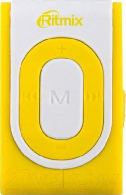 MP3-плеер Ritmix RF-2400 (4Gb, желто-белый)