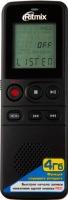 Цифровой диктофон Ritmix RR-810 (4Gb, черный) -