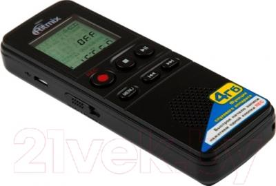 Цифровой диктофон Ritmix RR-810 (4Gb, черный)