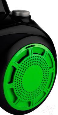 Пылесос Scarlett SC-VC80C09 (зеленый) - кнопка включения