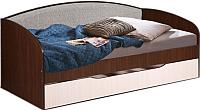 Двухъярусная кровать Мебель-Класс Маэстро (венге-дуб молочный) -