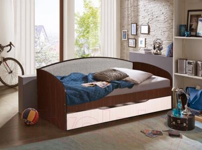 Двухъярусная кровать Мебель-Класс Маэстро (венге-дуб молочный) - в интерьере