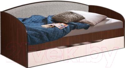 Двухъярусная кровать Мебель-Класс Маэстро (венге-дуб молочный)