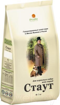 Корм для собак Стаут Гипоаллергенный с ягненком и рисом НМ163 (3 кг) - общий вид