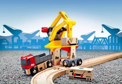Элемент железной дороги Brio Грузоподъёмный пункт 33280