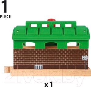Элемент железной дороги Brio Железнодорожное депо 33574