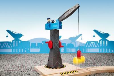 Элемент железной дороги Brio Подъёмный кран 33320