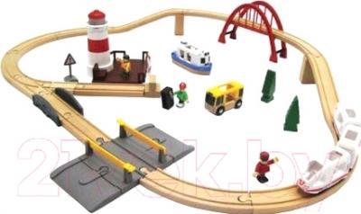 Железная дорога детская Brio Sea Travel Set 33624