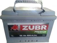 Автомобильный аккумулятор Zubr Premium (68 А/ч) -