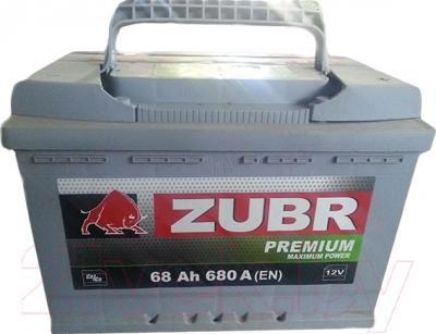 Автомобильный аккумулятор Zubr Premium (68 А/ч)