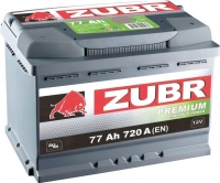 Автомобильный аккумулятор Zubr Premium (77 А/ч) -