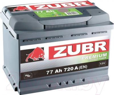 Автомобильный аккумулятор Zubr Premium (77 А/ч)