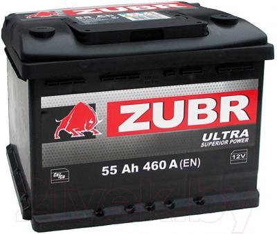 Автомобильный аккумулятор Zubr Ultra (55 А/ч)