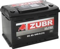 Автомобильный аккумулятор Zubr Ultra (66 А/ч) -