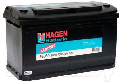 Автомобильный аккумулятор Hagen 90 А/ч