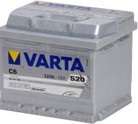Автомобильный аккумулятор Varta Silver Dynamik (52 А/ч) -