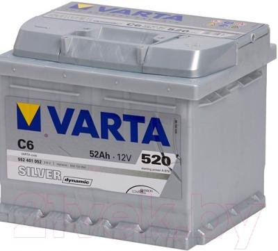 Автомобильный аккумулятор Varta Silver Dynamik (52 А/ч)