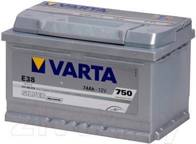 Автомобильный аккумулятор Varta Silver Dynamik (74 А/ч)