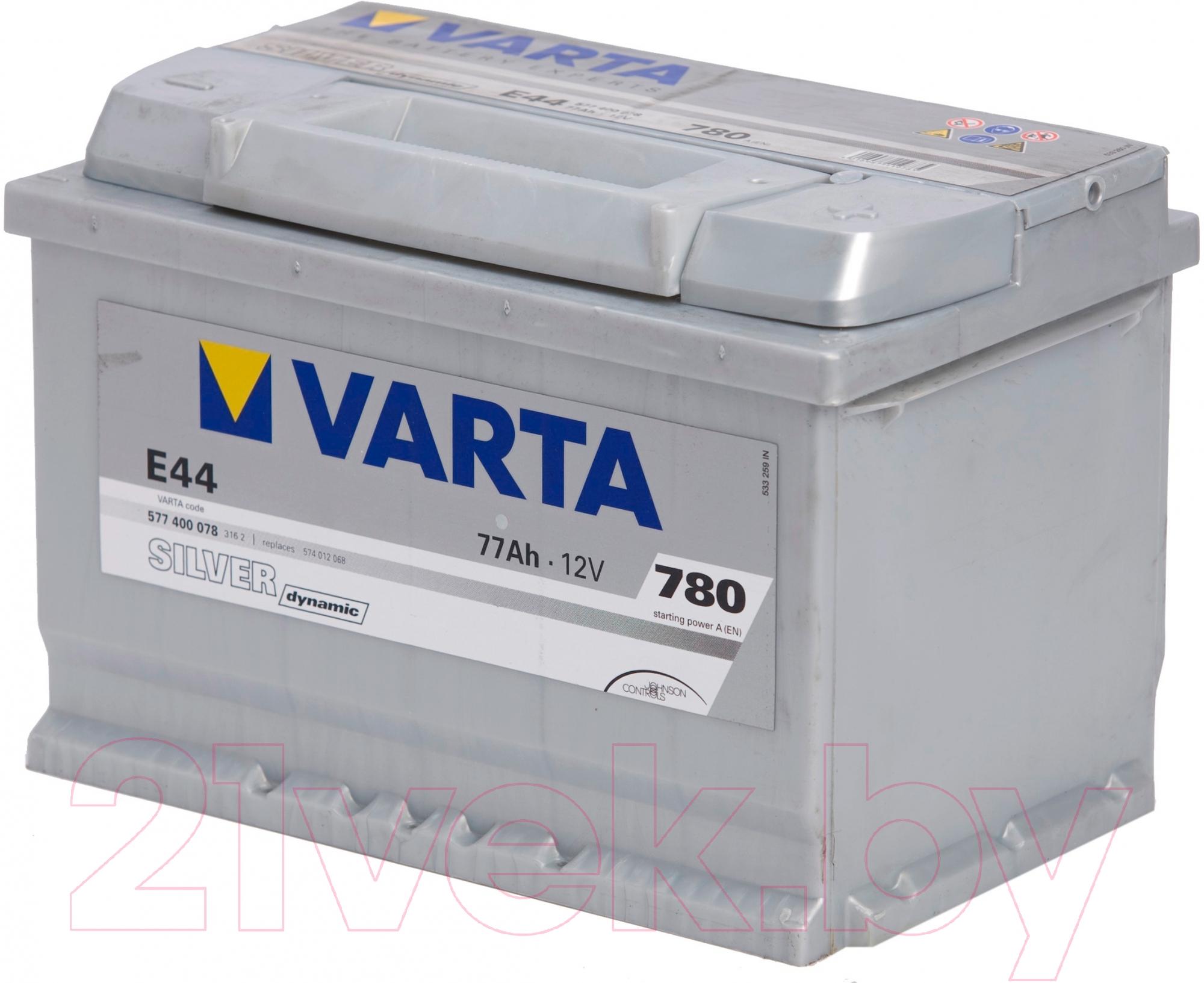 Автомобильный аккумулятор Varta