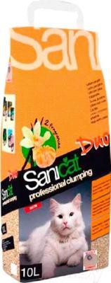 Наполнитель для туалета Sanicat Clumping Duo SCG032 (10л)