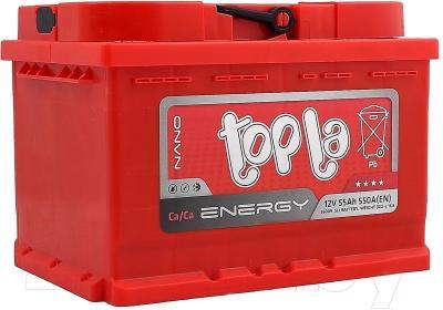 Автомобильный аккумулятор Topla Energy 108055 (55 А/ч)