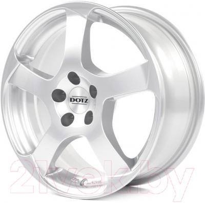 """Литой диск Dotz Freeride 15x6.5"""" 5x112мм DIA 70.1мм ET 38мм S (Silver)"""